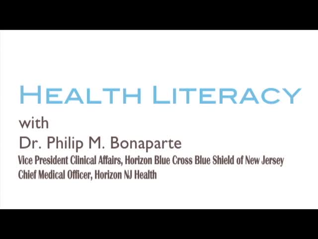 Health Literacy and Creating a Partnership with the Patient