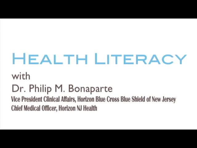 Health Literacy and the Health Care Professional